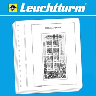 Leuchtturm SF Switzerland sheetlets 2018
