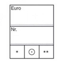 Lindner prijskaartjes wit klein - 1000 stuks