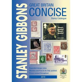 Gibbons Great Britain Concise Stamp Catalogue 2019 Edition