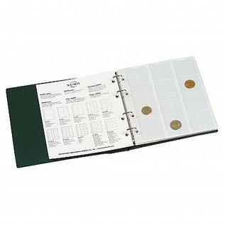Leuchtturm Numis album & slipcase green