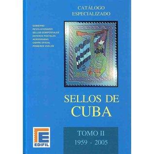 Edifil Sellos de Cuba Tomo II 1959-2005