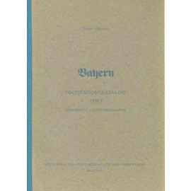 Münzberg Bayern Poststationskatalog 3 Bände