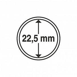Leuchtturm Münzkapseln CAPS 22.5 mm - 10 Stück
