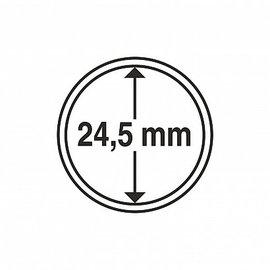 Leuchtturm coin capsules CAPS 24,5 mm - set of 10