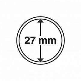 Leuchtturm Mùnzkapseln CAPS 27 mm - 10 Stùck