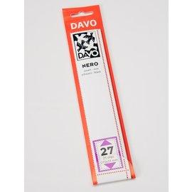 Davo klemstroken N27 Nero 215 x 31 mm - 25 stuks