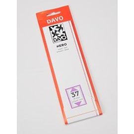 Davo stamp mounts Nero 215 x 41 mm - set of 8
