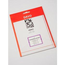 Davo klemstroken N01 Nero kinderblokken - 10 stuks