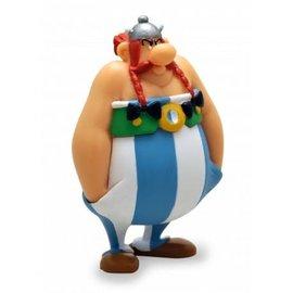 Plastoy Axterix figuur Obelix met handen in zakken