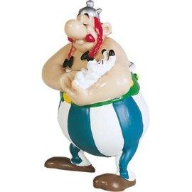 Plastoy Asterix figuur Obelix met Idefix