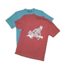 "moulinsart Kuifje T-shirt ""Ils arrivent"""