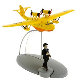 moulinsart Tintin airplane - The waterplane SY-AMO