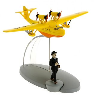 moulinsart Tintin Flugzeug - Das Wasserflugzeug SY-AMO