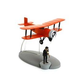 moulinsart Tintin Flugzeug - Der akrobatische Doppeldecker