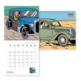 moulinsart Kuifje Kalender 2020
