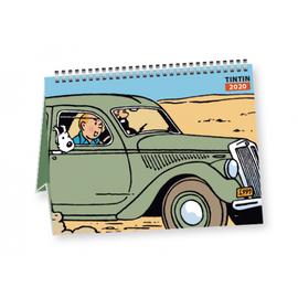 moulinsart Kuifje Kalender 2020 klein