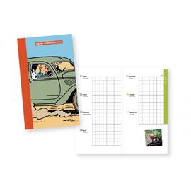 moulinsart Tintin Tageskalender im Taschenformat 2020