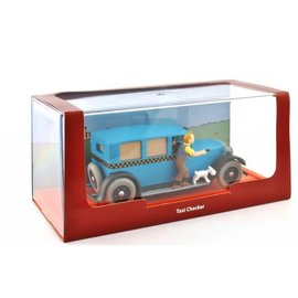 moulinsart Tintin car - Taxi Checker from Tintin in America