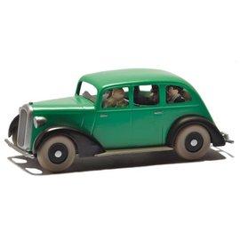 moulinsart Kuifje auto - De auto van de nep politieagenten uit Kuifje in Amerika