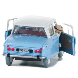 moulinsart Kuifje auto - De Ami 6 van de dokter uit De Juwelen van Bianca Castafiore
