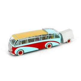moulinsart Kuifje auto - De bus van Swissair uit De zaak Zonnebloem