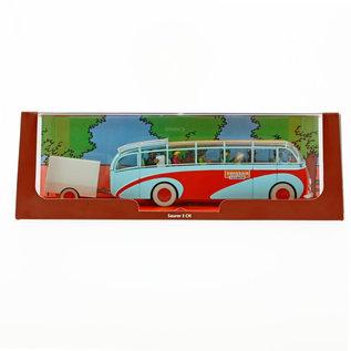moulinsart Tintin Auto - Der Bus von Swissair aus Der Fall Bienlein