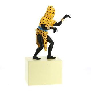 moulinsart Musée Imaginaire - statue The Leopardman