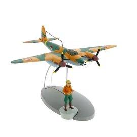 moulinsart Kuifje vliegtuig - Het verkenningsvliegtuig