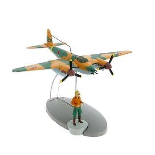 moulinsart Tintin Flugzeug - Das Aufklärungsflugzeug