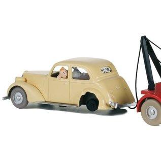 moulinsart Kuifje auto - De verongelukte auto uit De krab met de gulden scharen