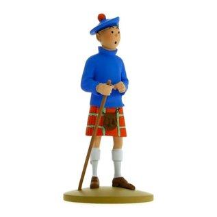 moulinsart Tintin Statue - Tim mit schottischem Kilt