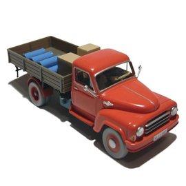 moulinsart Kuifje auto - De rode vrachtwagen uit De zwarte rotsen