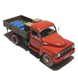 moulinsart Tintin car - The red lorry from The Black Island