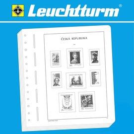 Leuchtturm album pages SF Czech Republic 1993-2009