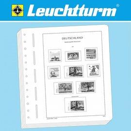 Leuchtturm album pages N German Reich Plebiscite Territories 1920-1922