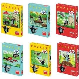 Dino Molletje met kreeft mini puzzel 60
