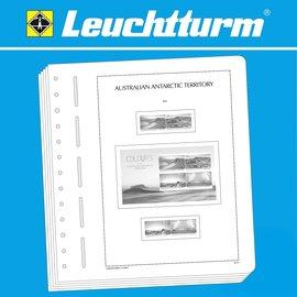 Leuchtturm album pages SF Australian Antarctic Territory 1957-2017