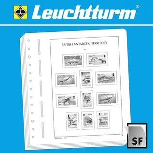 Leuchtturm SF album pages British Antarctic Territories 1963-2009