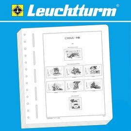 Leuchtturm album pages SF China 1949-1959
