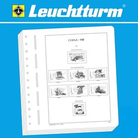 Leuchtturm album pages SF China 2010-2014