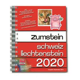 Zumstein Schweiz & Liechtenstein 2020 Spiralbindung