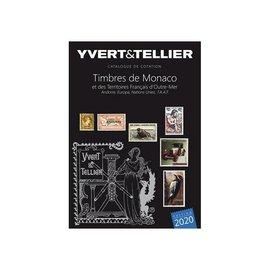 Yvert & Tellier Tome 1bis 2021 Timbres de Monaco et des Territoires Français d'Outre-Mer