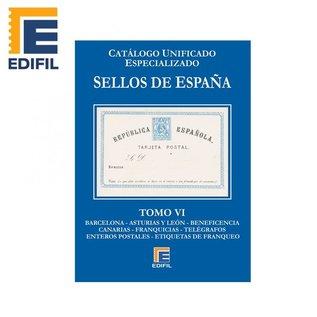 Edifil Sellos de España Tomo VI Locales - Enteros Postales