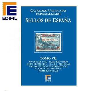 Edifil Sellos de España Tomo VII Pruebas - Emissiones Locales - Guerra Civil