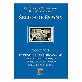 Edifil Sellos de Espana Tomo VII Dependencias Africanas (Primera Parte)