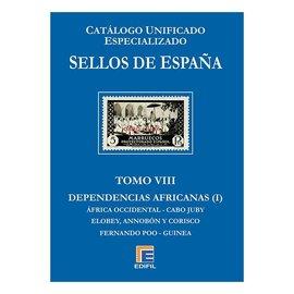 Edifil Sellos de Espana Tomo VIII Dependencias Africanas (Primera Parte)
