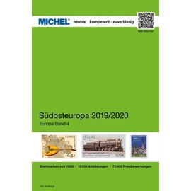 Michel Europa-Katalog Band 4 Südosteuropa 2019/2020