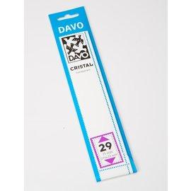 Davo Klemmstreifen Cristal 215 x 33 mm - 25 Stück