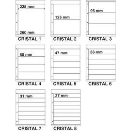Davo insteekbladen Kosmos Cristal assorti - 8 stuks