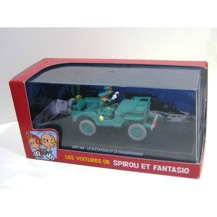 Editions Atlas Les voitures de Spirou et Fantasio Jeep MB - Le dictateur et le champignion